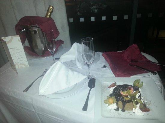 Real Marina Hotel & Spa: Birthday treat!