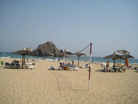Sandy Beach Hotel & Resort : пляж отеля