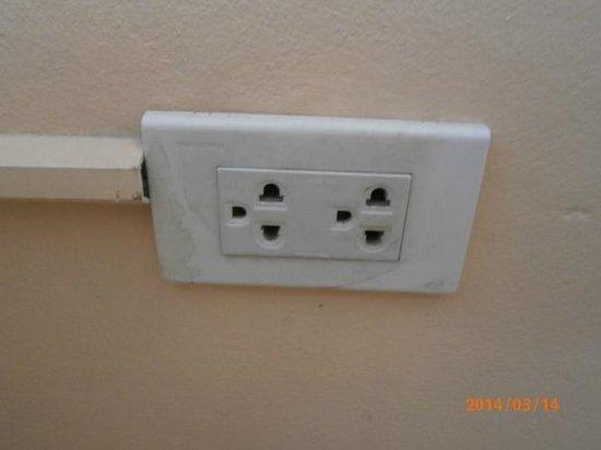 Eastiny Plaza Hotel: 電源は220vです