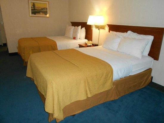Ramada Hawthorne/LAX : Two double beds room