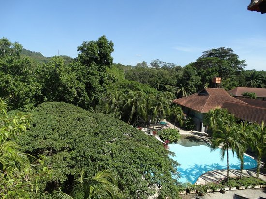 Sabah Hotel: View from the balcony