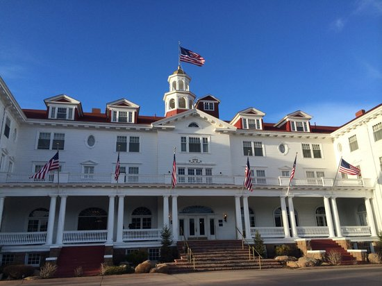 Front of Stanley Hotel