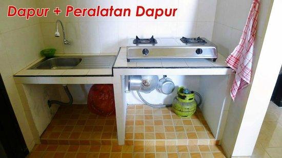 Batu Indonesia Dapur Diksa Homestay 1