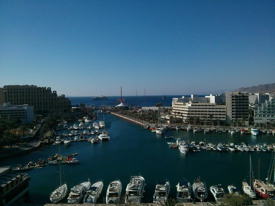 Crowne Plaza Hotel Eilat : View from room 915