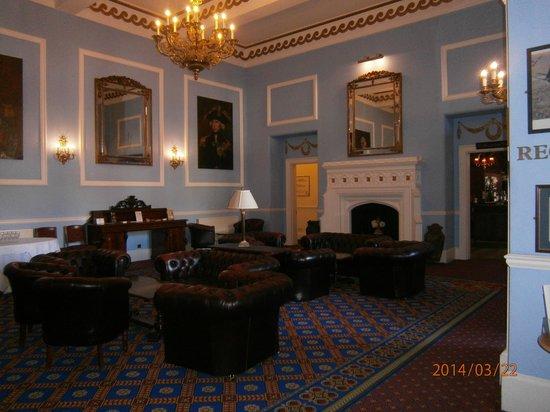 Lynford Hall: The main house