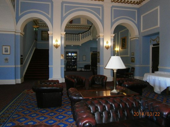 Lynford Hall: The Hallway