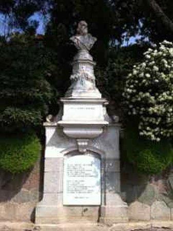 Tappeinerweg: monumento Tappeiner