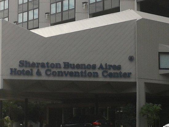 Sheraton Buenos Aires Hotel & Convention Center: Identificação