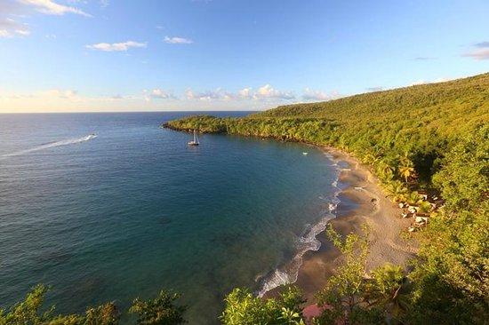 Ti Kaye Resort & Spa: Anse Cochon Beach (2014)