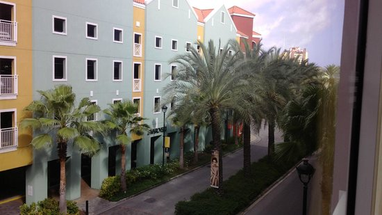 Renaissance Curacao Resort & Casino: View from the room (the opposite is the parking garage