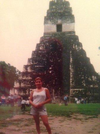 Temple IV : Tikal magical Maya city