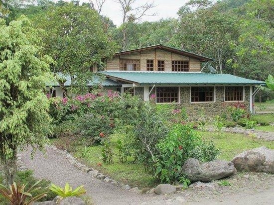 Rio Quijos Eco Lodge : Main lodge