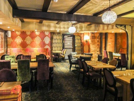 The Hanseatic Hotel: Breakfast/dining area
