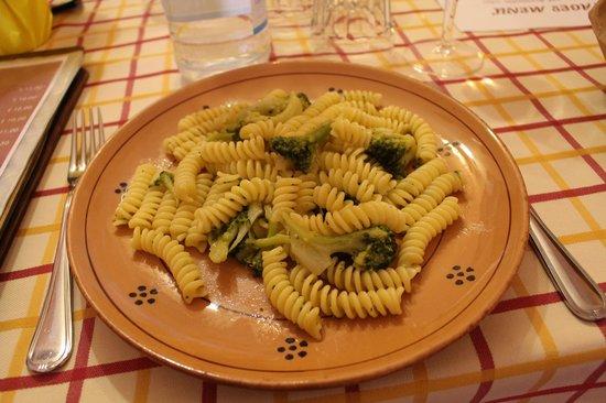 Al Cantinone: Pasta con i broccoli