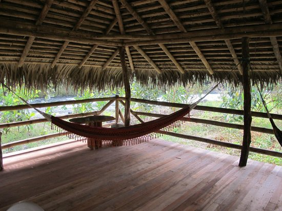 Rio Quijos Eco Lodge : In the Shelter down near the river