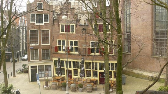 Renaissance Amsterdam Hotel: View from room 244