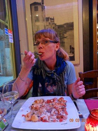 Trattoria Pizzeria da Gioia: У-у-у....