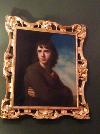 The Merrion Hotel : You could spend a day just exploring the hotel's art.The Spartan Boy- John Camillus Hone (1745-1