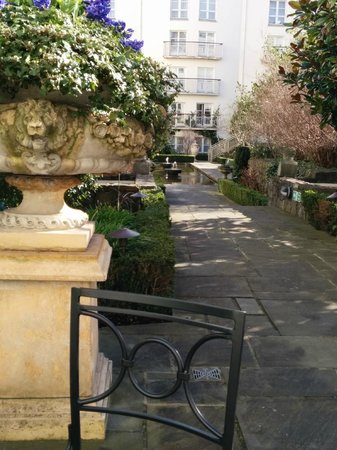 The Merrion Hotel: The center garden, part museum part aviary, can transform even the most exhausting or hectic day