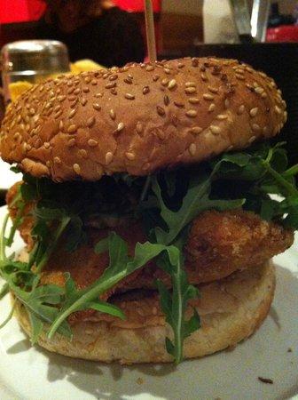 Gourmet Burger Kitchen : Fish Burger