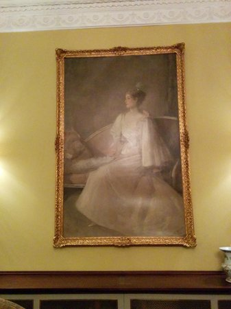 The Merrion Hotel: I recognized this painting from an art book of my mothers... Women in White.  My heart filled ..