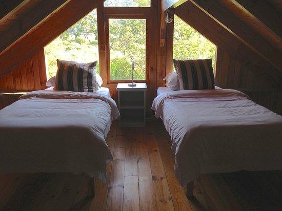 Reflections Eco Reserve: Mezzanine Level bedroom
