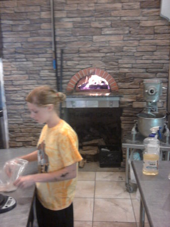 The Brick Oven : Wood fired brick oven