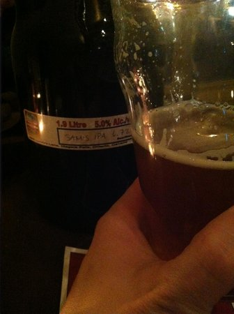 Syndicate Restaurant and Brewery: Sinister Sam's IPA at Syndicate