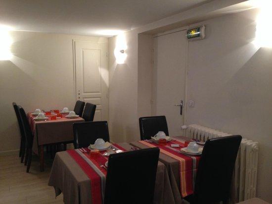 Hotel Le Relais Saint Jacques : SALLE PETITS-DEJEUNERS