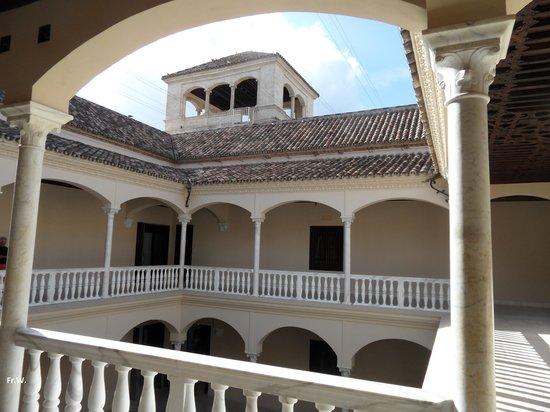 Musée Picasso de Malaga : De binneplaats !!!!
