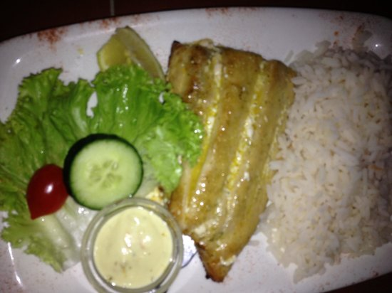 Chokka Block Restaurant : Delicious fresh fish