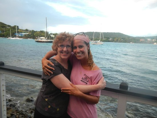 Morningstar Sailing and Power Charters : My favorite first mate!