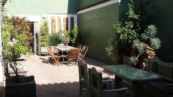 La Casa del Atrio: Courtyard