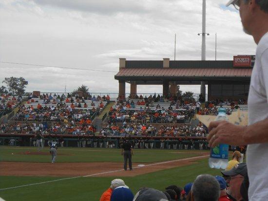Scottsdale Stadium: In the ballpark