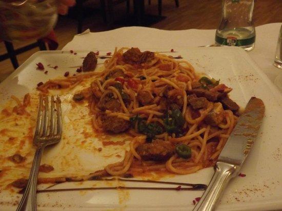 Il Fragolino : Spaghetti Diavoletti
