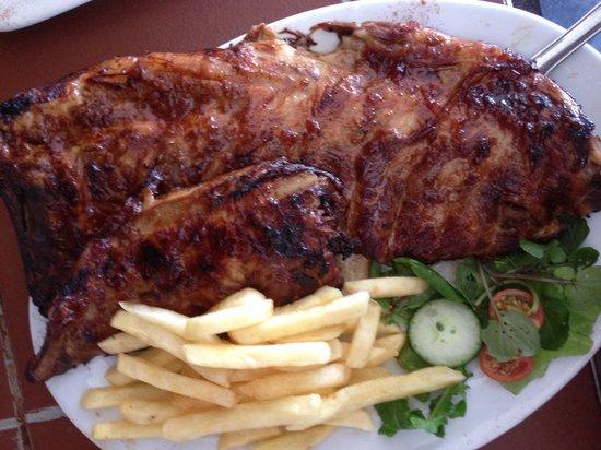 Chokka Block Restaurant: Tender pork belly ribs