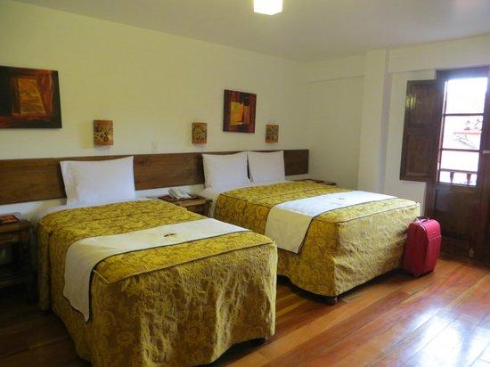 Hotel Rumi Punku : quarto