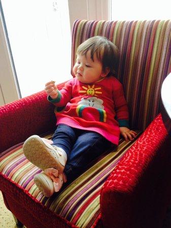 Redcastle Hotel : Not too shabby upholstery!
