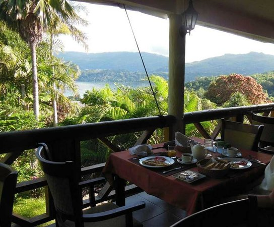 Anse Soleil Resort : Breakfast Terrace