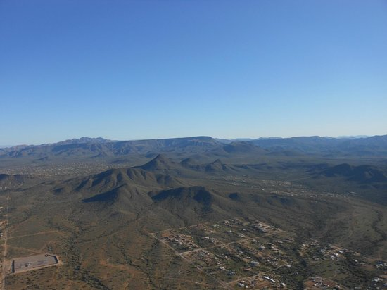 Hot Air Expeditions: View of beautiful AZ near Phoenix
