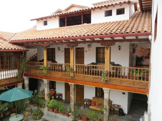 Hotel Rumi Punku : hotel parte interna