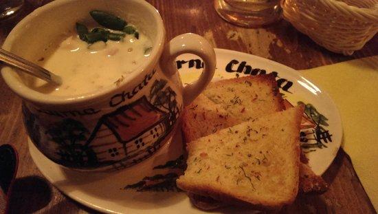 Kurna Chata: Sopa de queso
