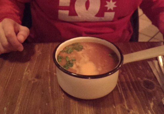 Kurna Chata : Sopa de tomate