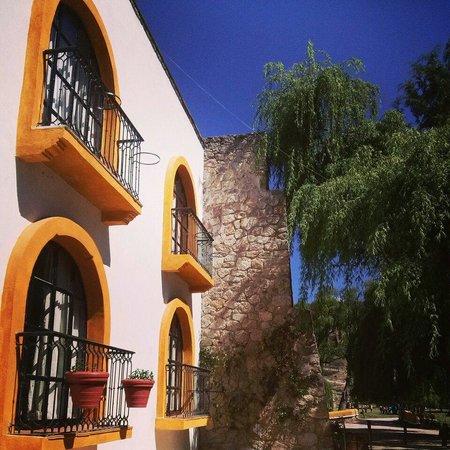 Hotel Vergel de la Sierra: Aire fresco cada mañana nada como despertar en un lugar como este.