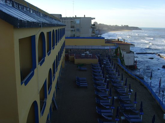 Grand Hotel Dei Cesari: Плях