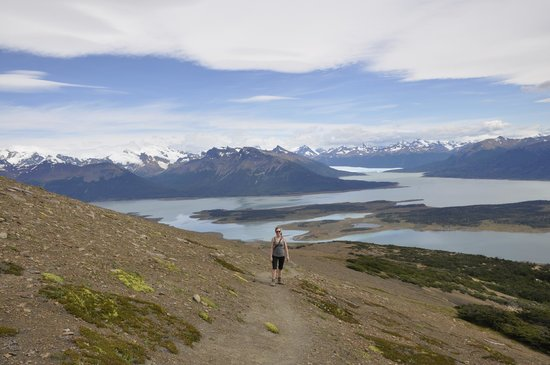 Tierra del Fuego National Park, Argentina: View from hike with Lago Roca below