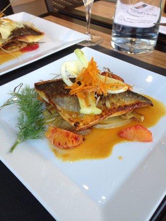 Hotel Le Cristal Restaurant: Le bar aux agrumes