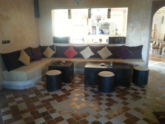 Riad Madu: Zona relax - bar