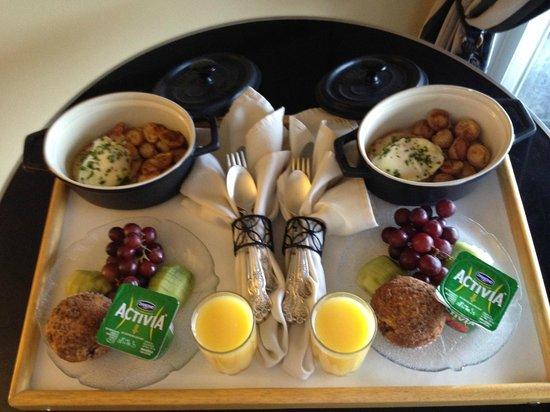 Beach Hideaway Bed and Breakfast & Spa : Breakfast