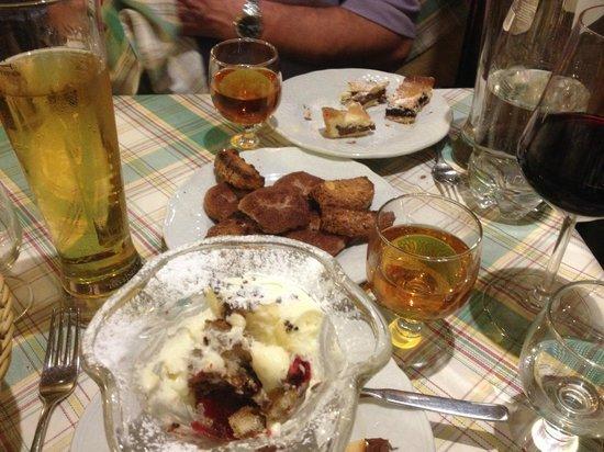 I Butteri: Dessert